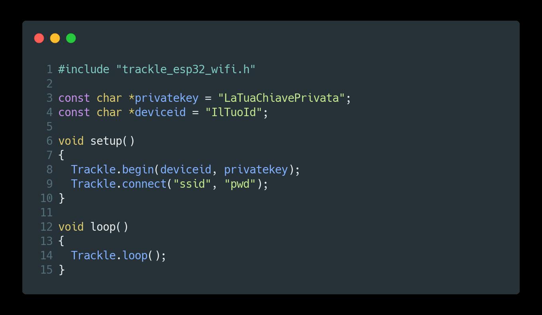 Scopri Trackle, l'IoT Platform dove puoi sviluppare software da integrare ai tuoi macchinari industriali.